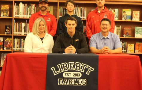 Stone Krogman Signs for Quincy College to Play Baseball