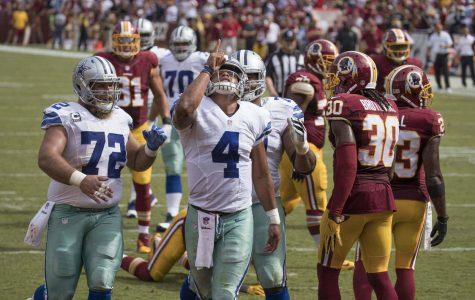 Cowboys at Redskins 9/18/16
