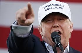45th President, Donald Trump.