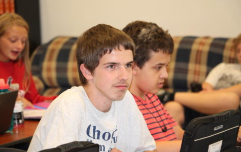 Alex Miget is named Student of the Month for September.