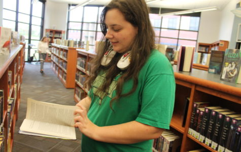 Senior Dana Eplett helped to create Liberty's Scribes.