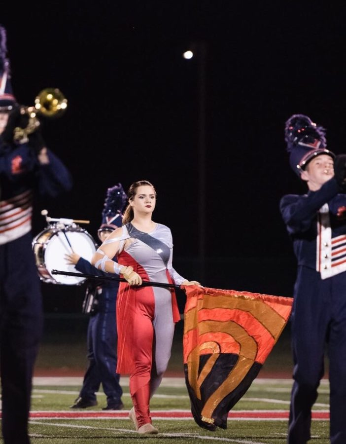 Allison+Holtschlag+performing+the+half+time+routine+for+color+guard+%28submitted+by+Allison+Holtschlag%29