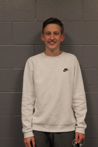 For the month of October, Brice Moreland is named student of the month for all of his hard work.