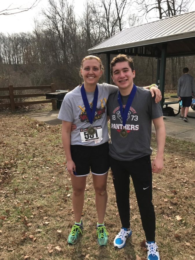 Laura++Glavin+and+Gabe+Rompel+were+last+year%27s+winners+of+the+5+mile+race.+
