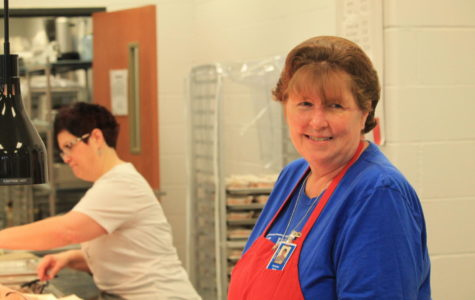 Cammie Earle has been working in school cafeterias for over 20 years.