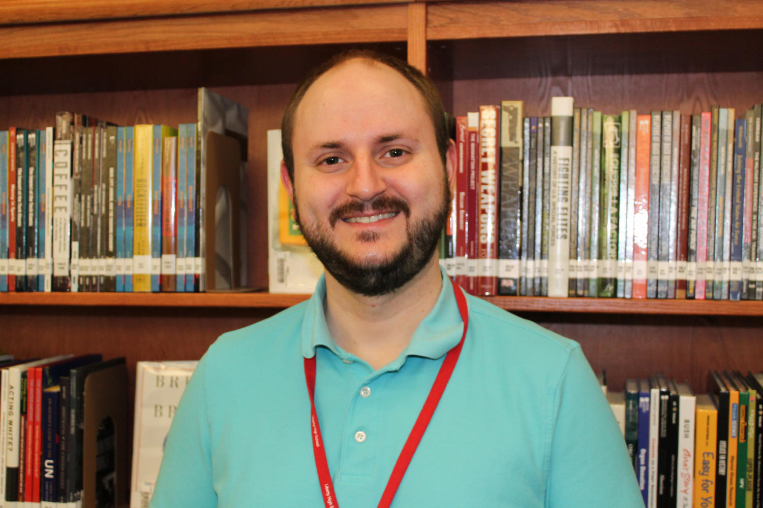 Mr. Eversole is one of the English teachers at Liberty.