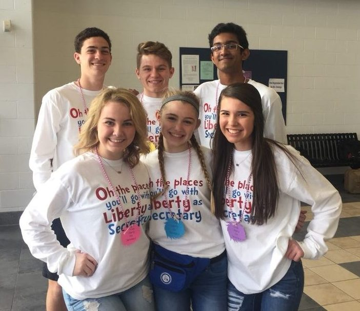 Six StuCo members were chosen to attend the MASC conference on March 8-10 at Lebanon High School.