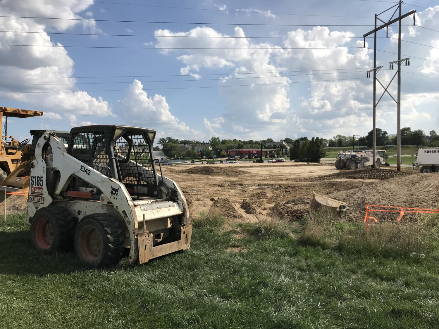Construction for the Popeyes started on Aug. 27.