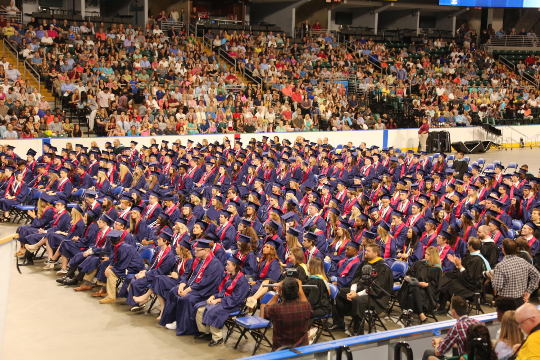Liberty's 2017-18 graduation ceremony.