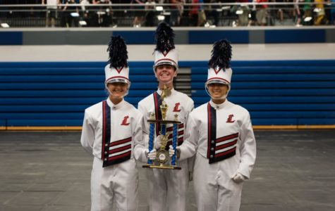 Marching Band Overcomes Rain And Places Third