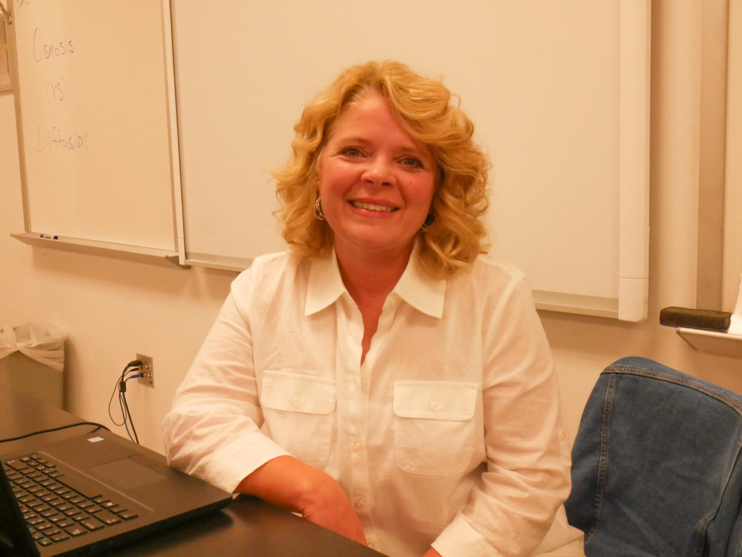 Ms. Muller is a new teacher at Liberty and already has made a good impression on many students and staff members.