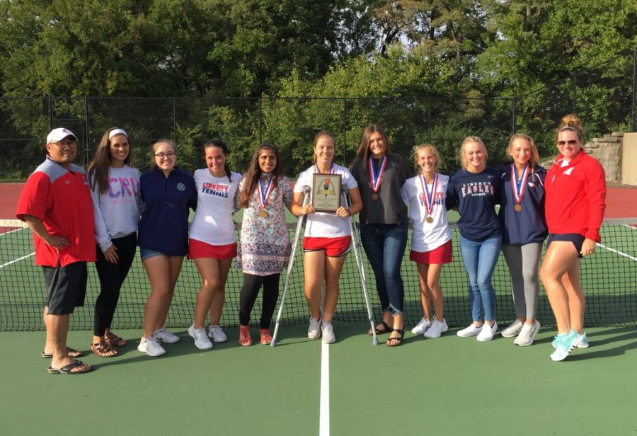 Eagles Tennis Goes Back to Back