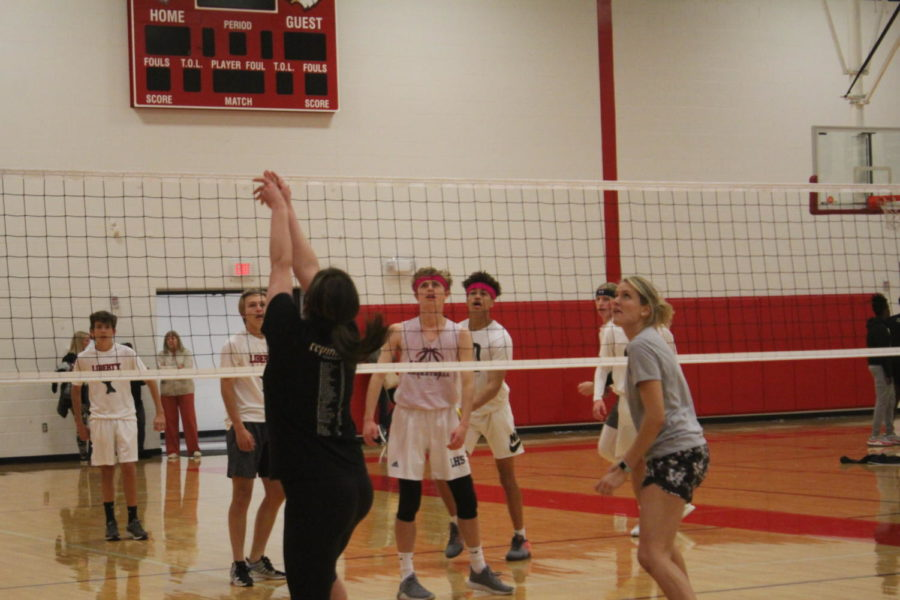 Student Council puts on annual volleyball tournament to raise money for future events.