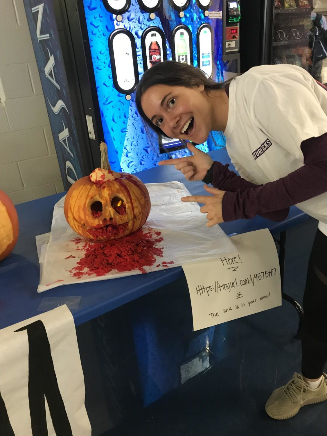 Hallie Tyarks  Pumpkin Contest Winner