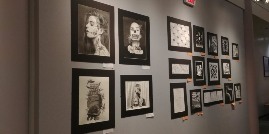 Students at St. Charles Community College get the opportunity to showcase their art at the college's art center.