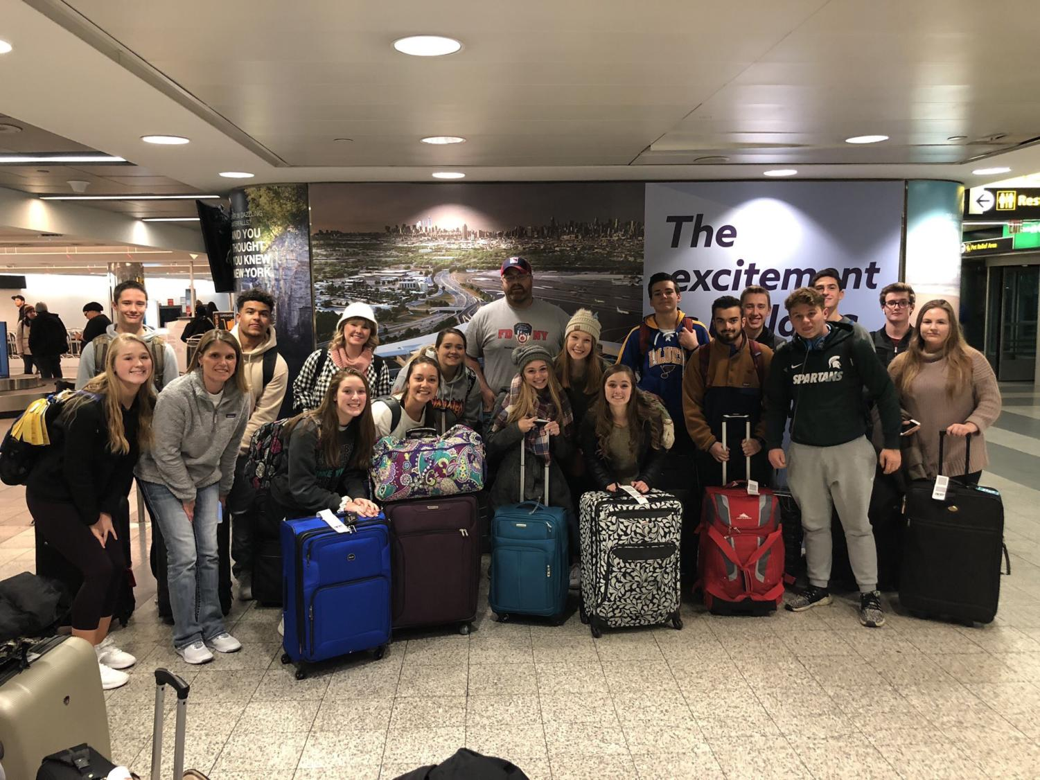 DECA members traveled to New York City in December for four days. The group saw popular attractions like Times Square, NBC Studios and attended the Radio City Christmas Spectacular with the Rockettes.