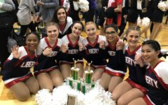Liberty's JV Belles are looking forward to competing at the Battle Spirit Competition in Columbia Saturday, Dec. 8th.