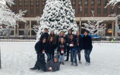 A group of Liberty thespians spend an afternoon in the snow following 2019 ThesCon in Kansas City. Due to inclement weather conditions, the troupe spent an extra night at their hotel. What started as a change of plans led to a conference-wide snowball fight, creating memories Troupe 8211 will never forget.