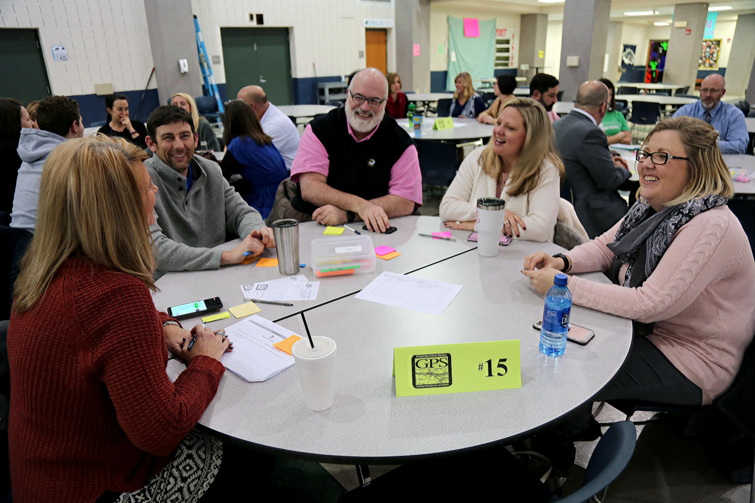 The Wentzville School District community collaborates to come up with their priorities for the next couple years.