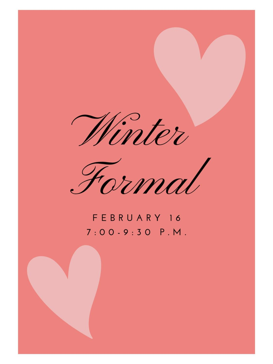 Liberty's winter formal is coming up and tickets will be on sale soon.