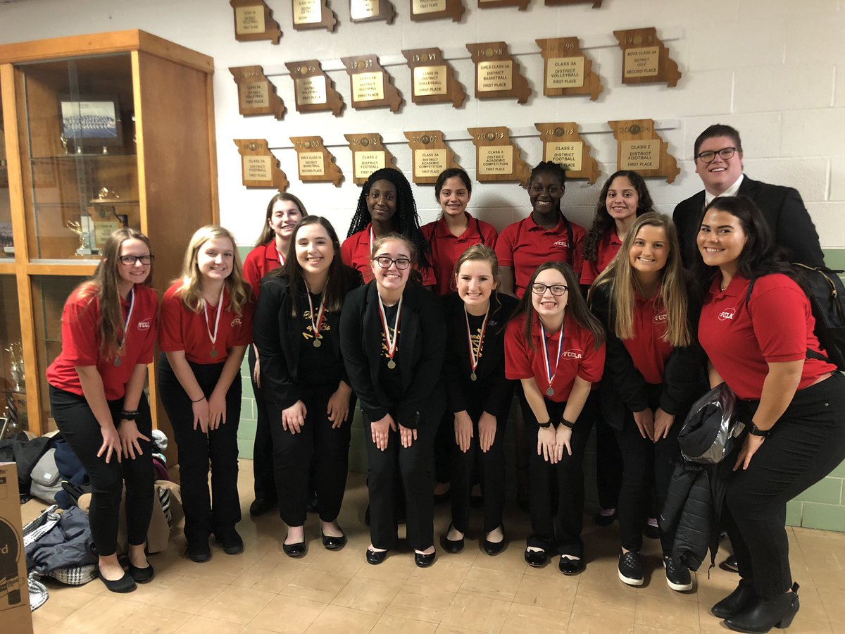 Several Liberty students were awarded silver and gold awards at FCCLA's recent regional competition.