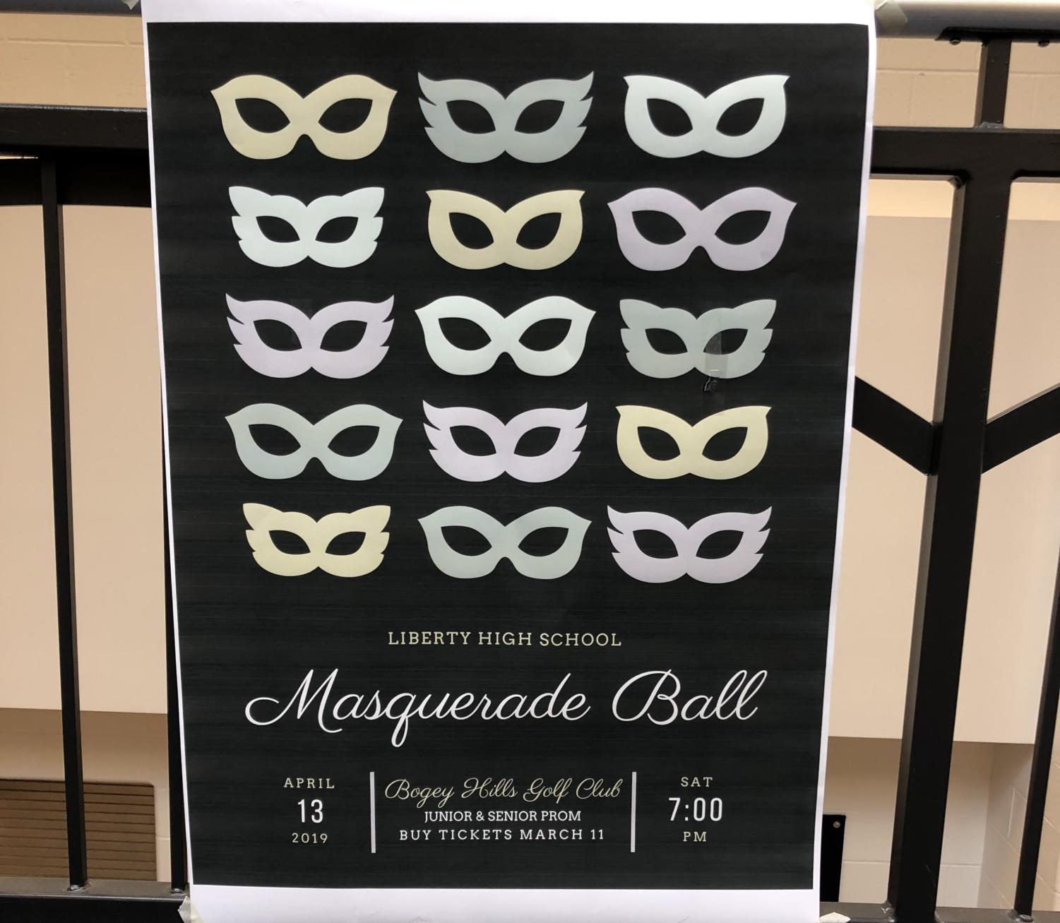 This years prom is April 13 at 7 p.m.