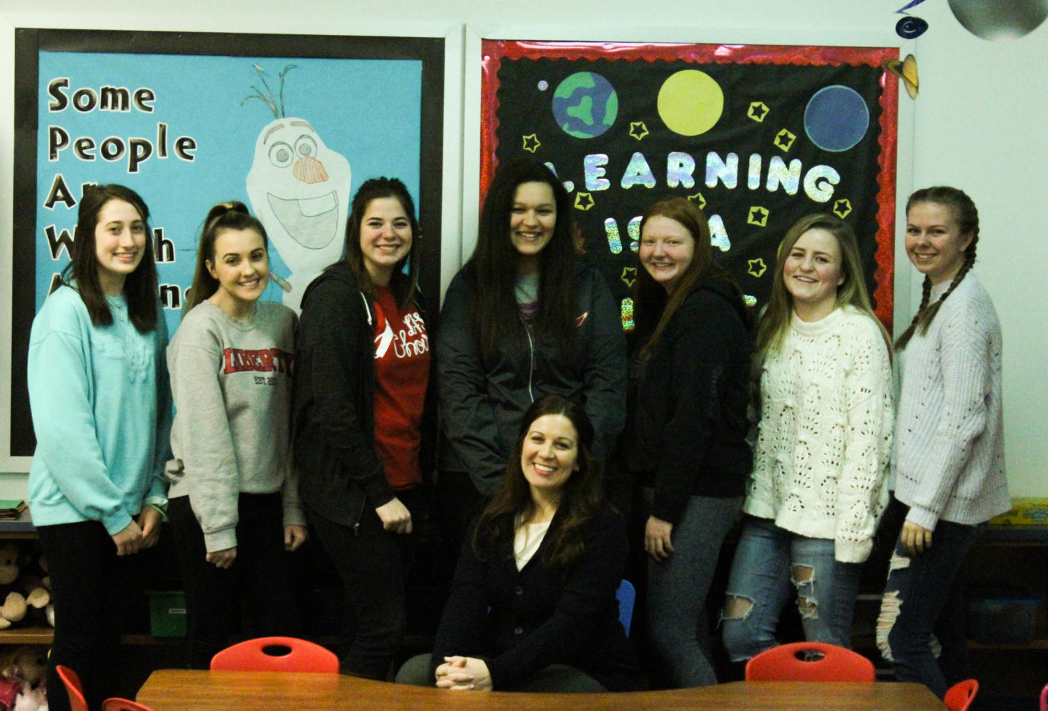 The Educators Rising Executive Board. 11 Liberty Educators Rising members are going to state on April 1.