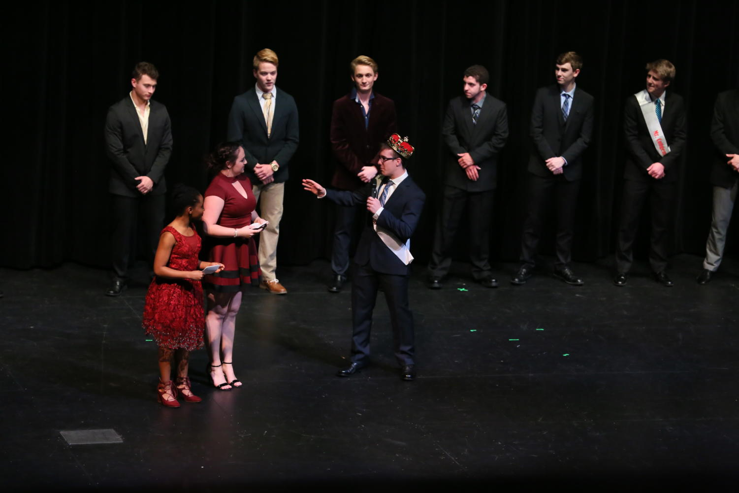 Last year's Mr. LHS was a big hit and the hope is to have the same turnout this year as well.