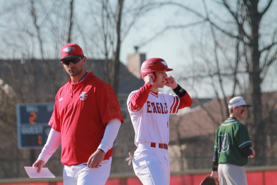 Coach Clements' love for coaching has brought a new dynamic to the baseball team. He notes specific improvements the team can make on a daily basis.