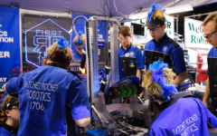 Ratchet Rockers Robotics Makes World Championships