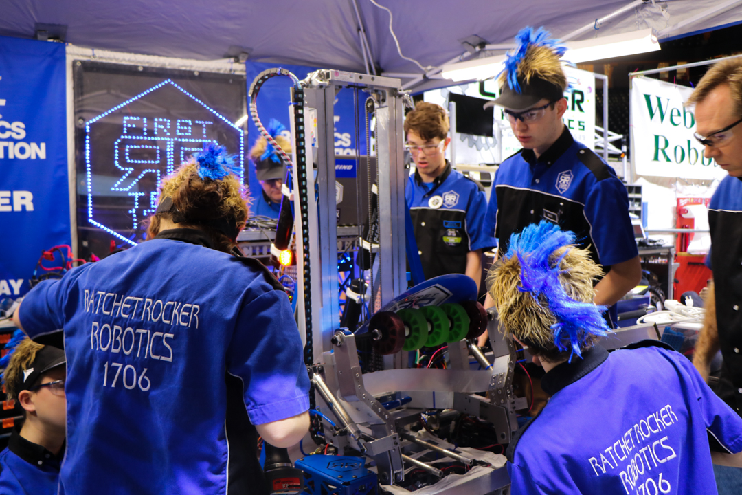 The Ratchet Rockers competed at regionals March 29-30.