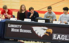 Senior Garrett Overton talks about his college commitment to play lacrosse at Columbia College.