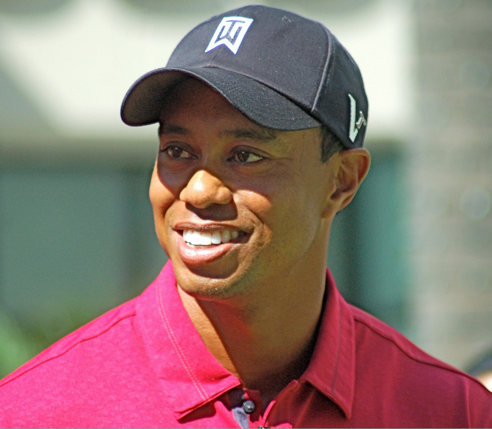 Tiger won his fifth Master's this year.