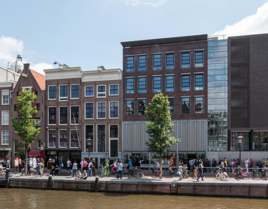 The+Anne+Frank+house+in+Amsterdam+is+one+of+the+many+places+students+will+be+visiting+over+the+course+of+the+trip.+