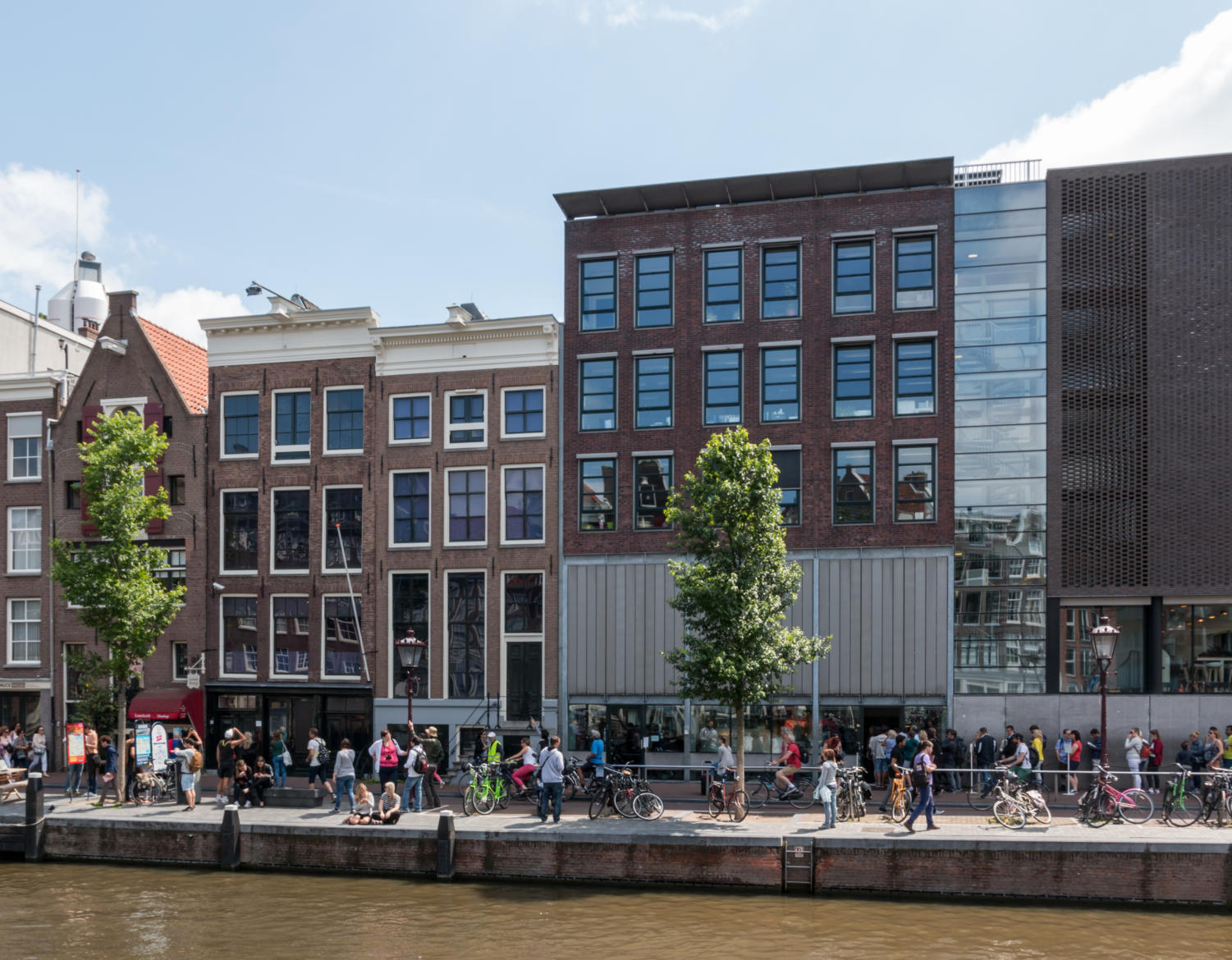 The Anne Frank house in Amsterdam is one of the many places students will be visiting over the course of the trip.