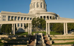 The Missouri State Capitol building in Jefferson City is much larger in person.