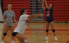 Varsity Volleyball Sweeps Troy In Home Opener