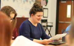 Ms. Gehrke has a passion for theatre, and loves introducing her students to new material.