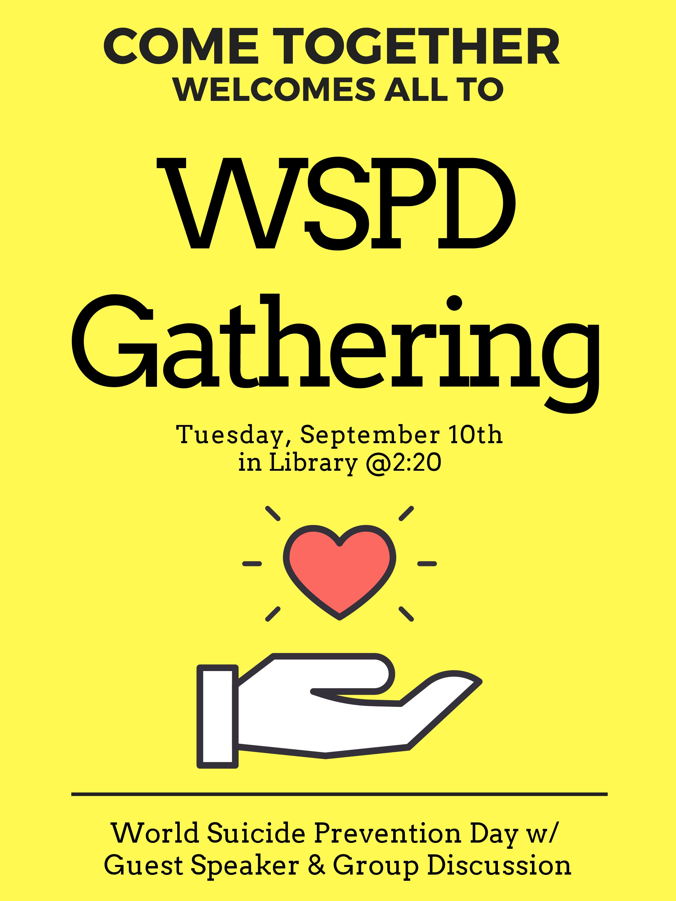 Come Together Club Has WSPD Gathering
