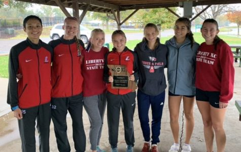 Girls Cross Country Win District Title