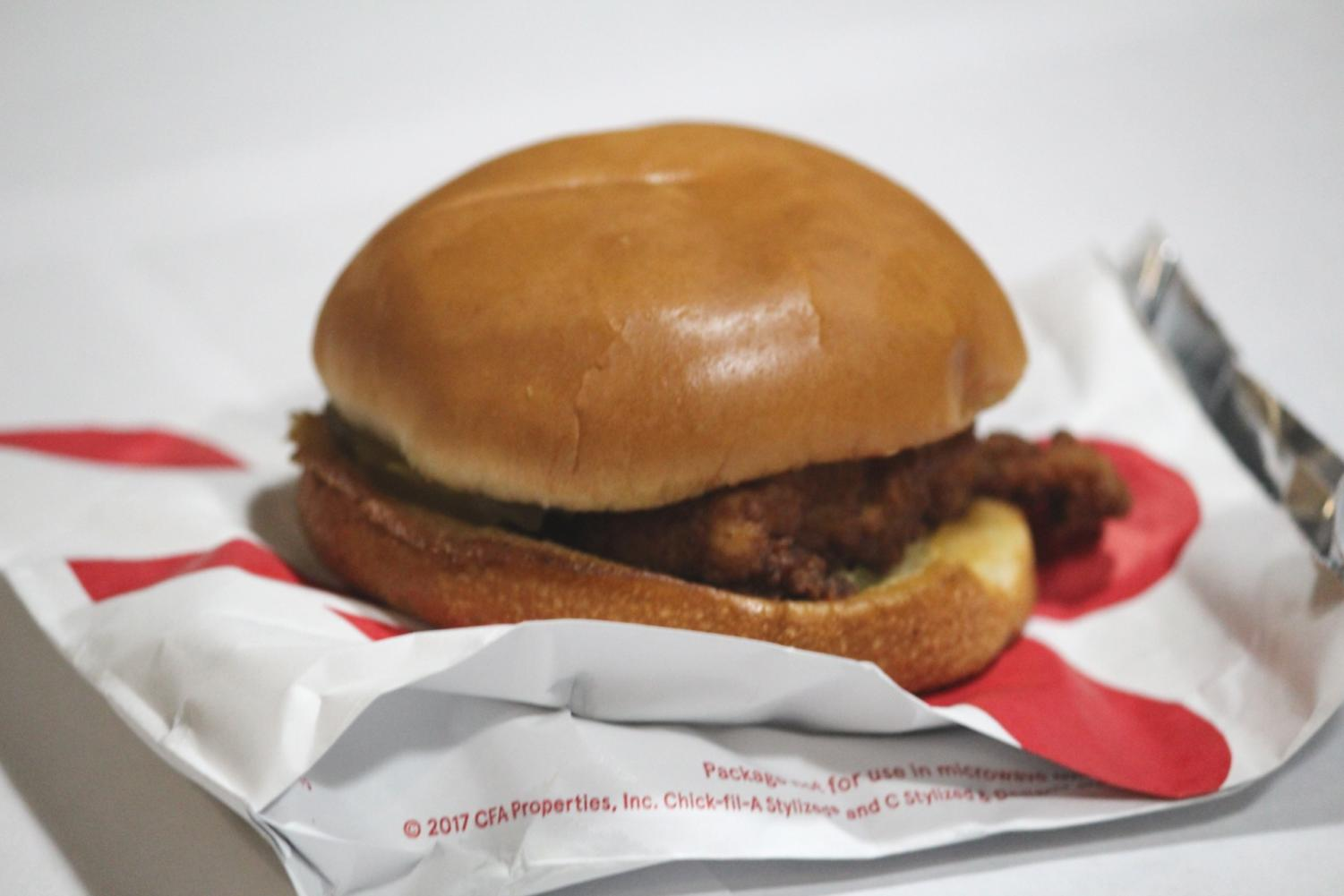 Chick-fil-A has a popular chicken sandwich but Popeyes is gaining in popularity with a new sandwich.