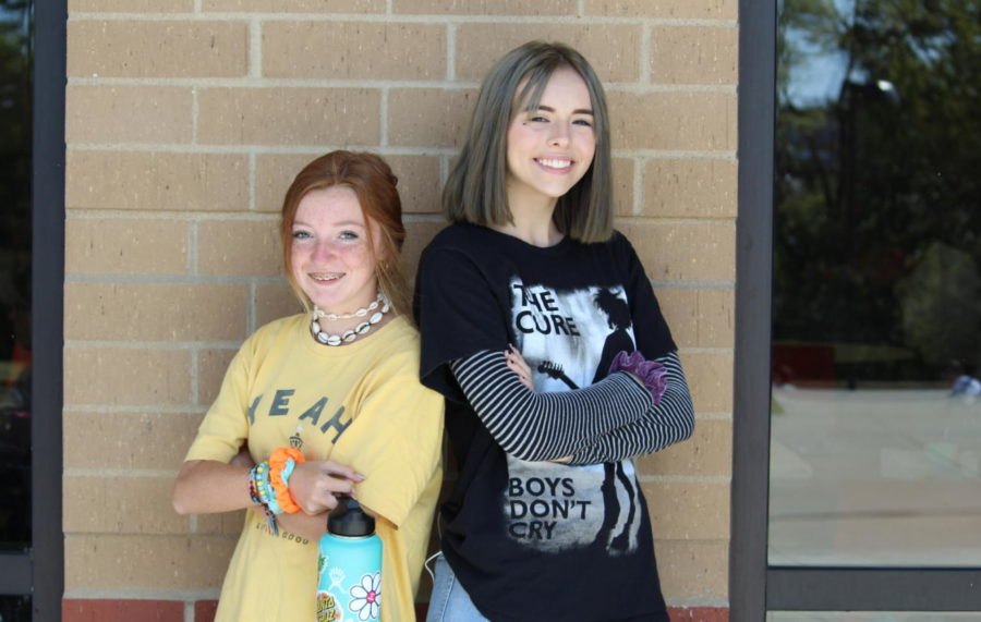 Jade O'Neill and Britney Boyer show off their aesthetic.