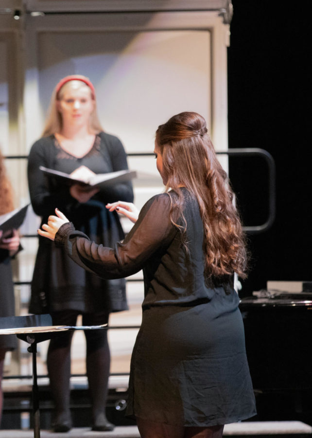Ms. Kennedy recently received her master's degree in teaching the Choral Arts.