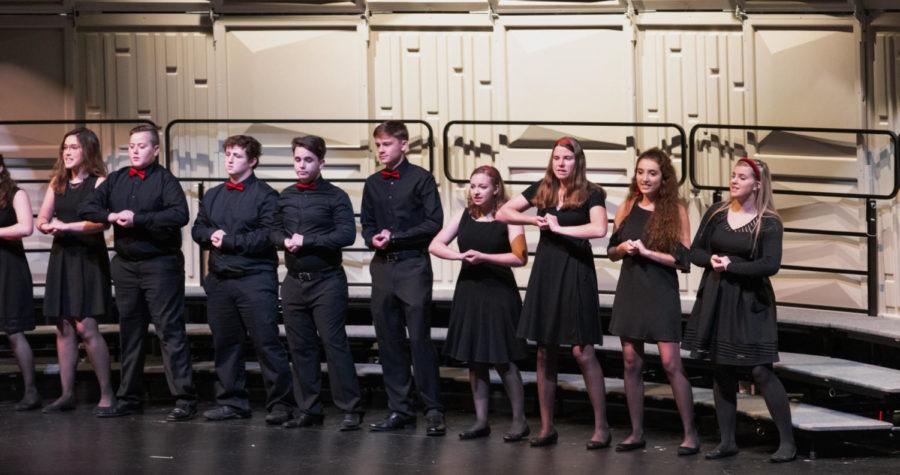 Chamber Choir performs their