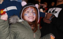 I brought my 5-year-old sister Willow to the district championship football game.