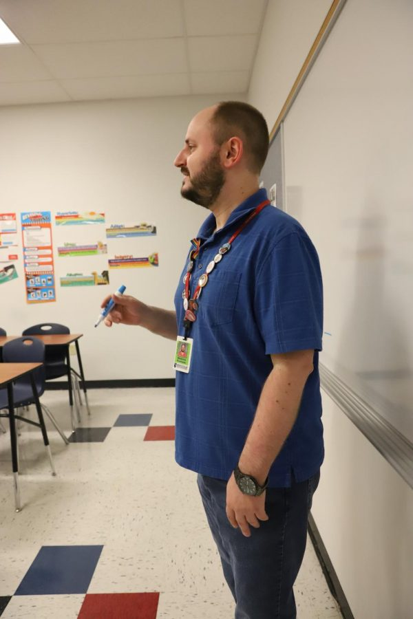 Through his laid back style of teaching and entertaining demeanor, Mr. Eversole has created numerous connections with students. He's provided an impactful insight on life that everyone can appreciate.