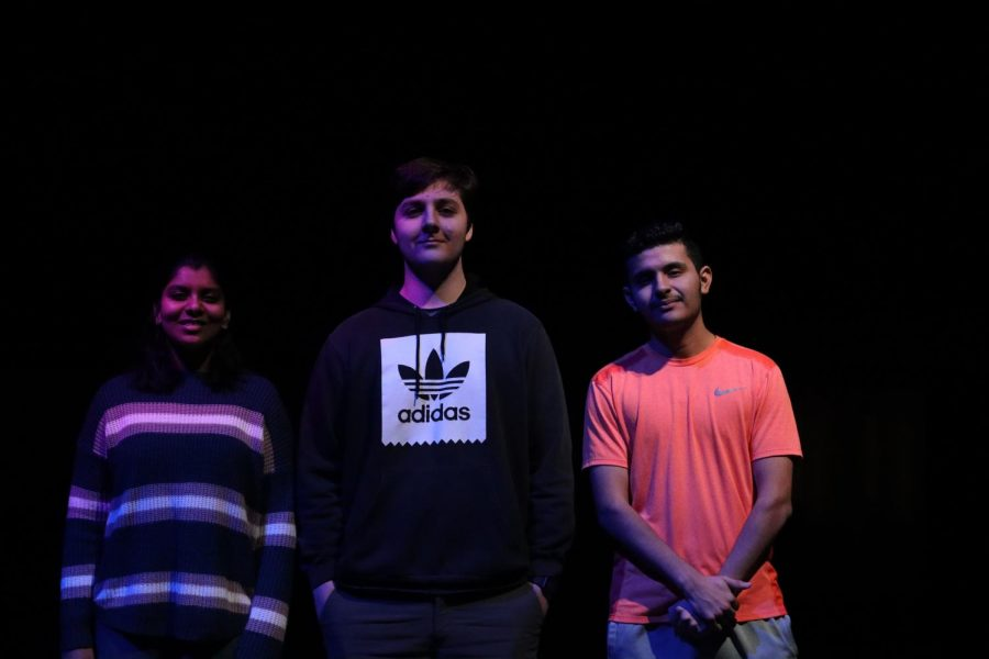 We're shedding light on what it's like to be a bilingual immigrant in America. Sophomore Sanjana Anand (left), senior Suleyman Alasgari (center), freshman Luis Sanchez (right).