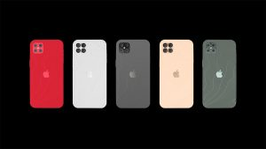The iphone 12 will be released with five different colors to choose from.