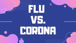 Influenza vs. COVID-19