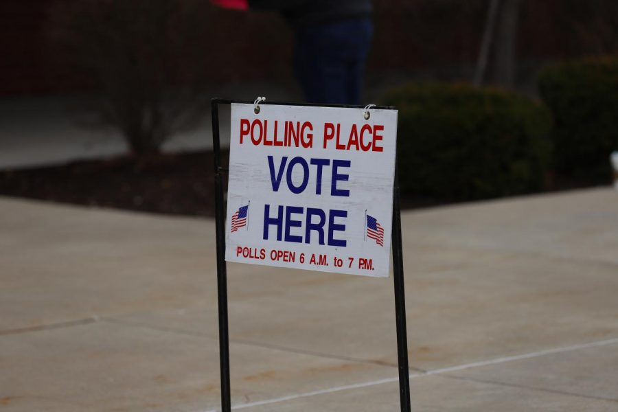 Liberty was a polling place for those voting in the Missouri primaries.